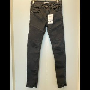 Zara Kids Moto Jeans